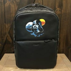 NWT Authentic Star Wars X Coach Backpack